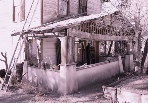 house ghost town historic