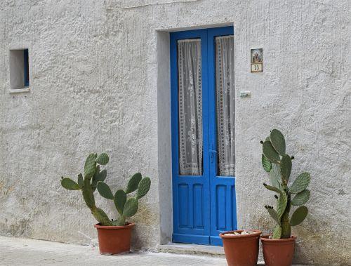 house door old house