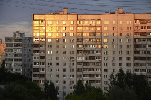 soviet architecture house apartment