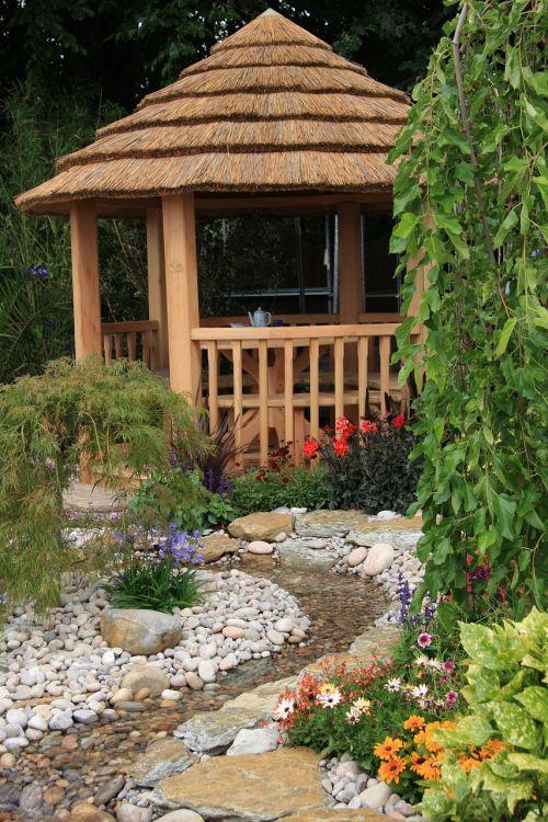 house summer house idyllic
