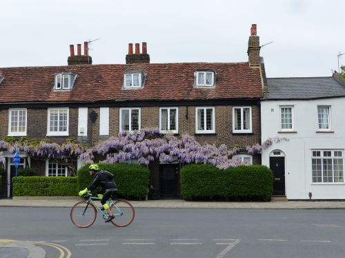 house architecture bike