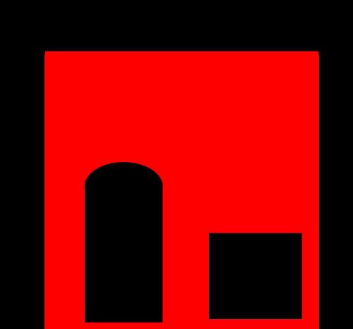 house door f