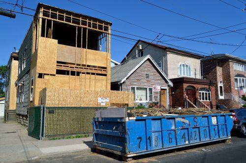 house under construction construction