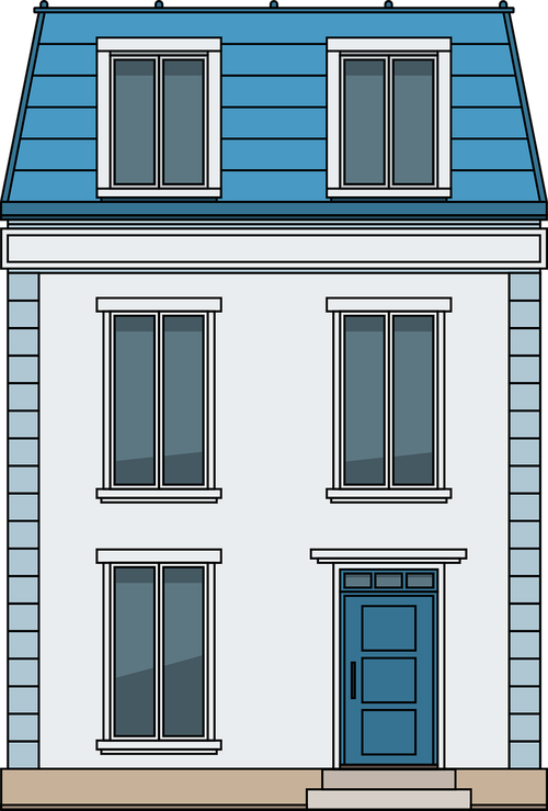 house  french house  architecture