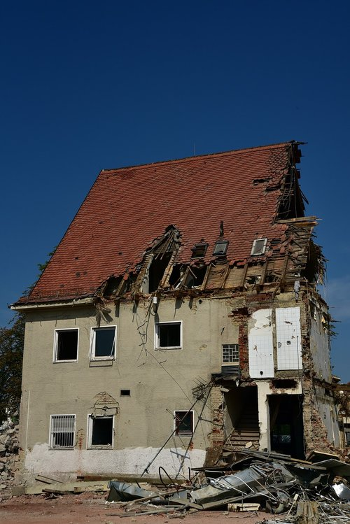 house  demolition  building