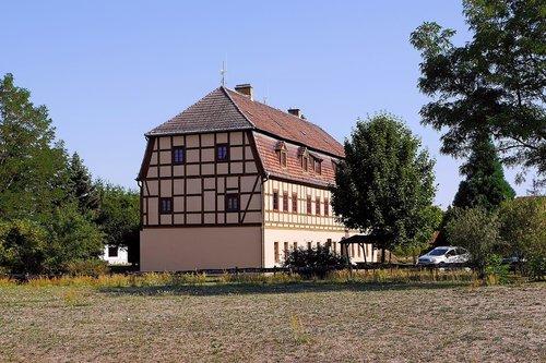 house  building  fachwerkhaus