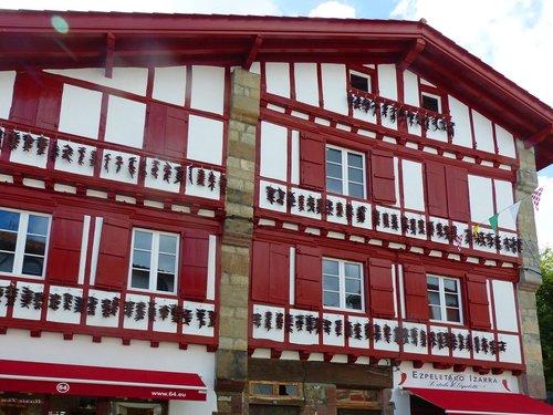 house  euskal herria  ezpeleta