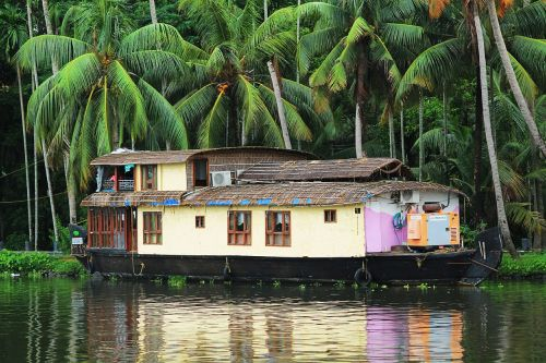 house boat boat travel