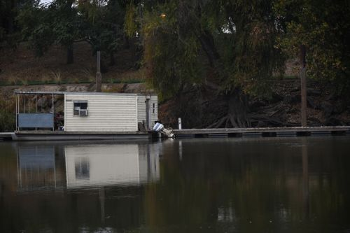 House Boat On Sacramento