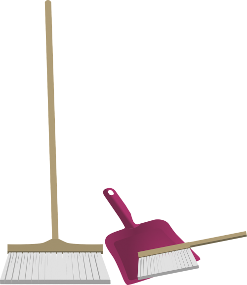house cleaning broom hand brush