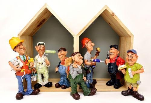 house construction craftsmen site