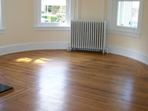 house decor circular room wood flooring design