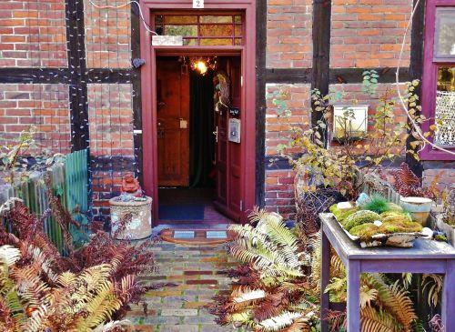 house entrance nostalgic old door