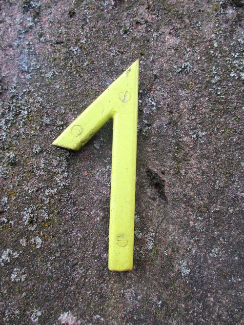 house number one number