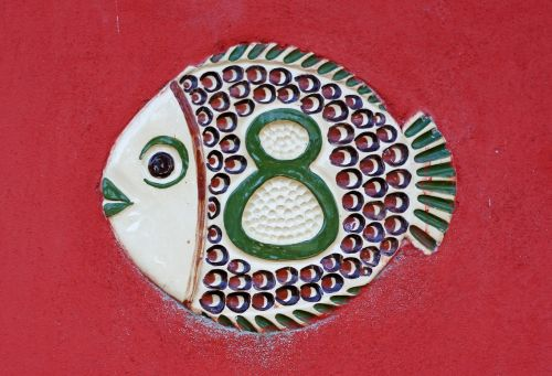 house number eight fish