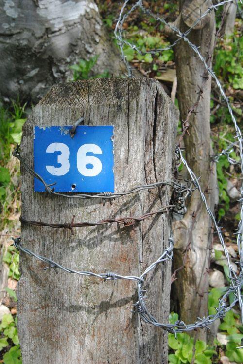house number number digit