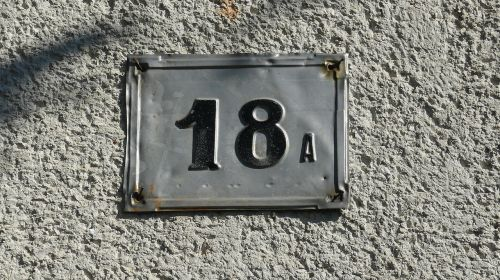 house number address numbering