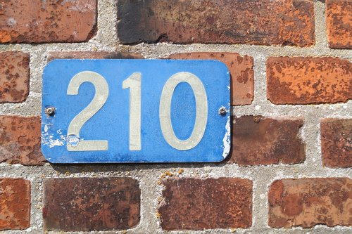 house number  number  shield