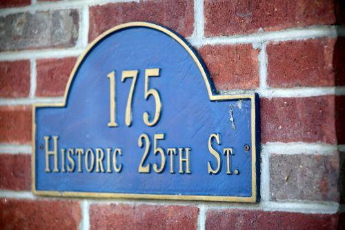 house number street number number