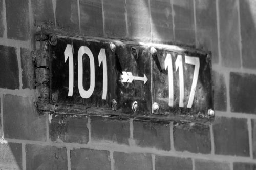 house numbers road fixing