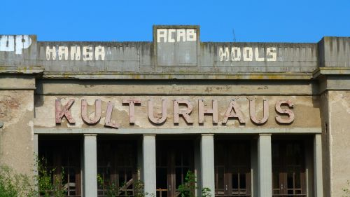 house of culture ruin lapsed