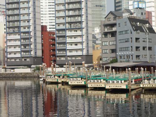 houseboat shinagawa canal
