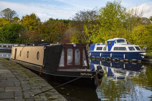 Houseboat On River