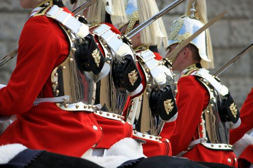 household cavalry mounted soldiers