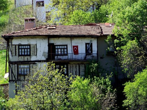 houses safranbolu wood