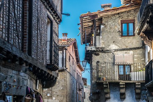 houses  facades  tourism