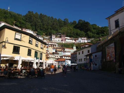 houses cudillero asturias
