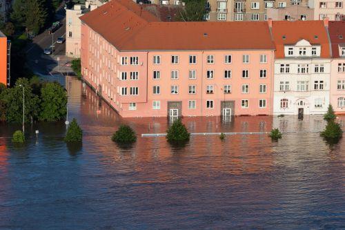 Houses Flooded