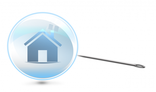 housing bubble,property bubble,real estate bubble,house,home,icon,needle,property,real estate