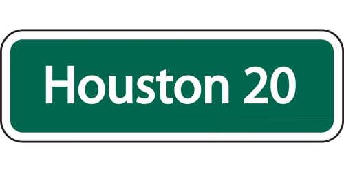 houston ahead distance