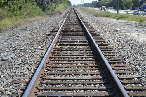 houston texas rail road crossing caution train