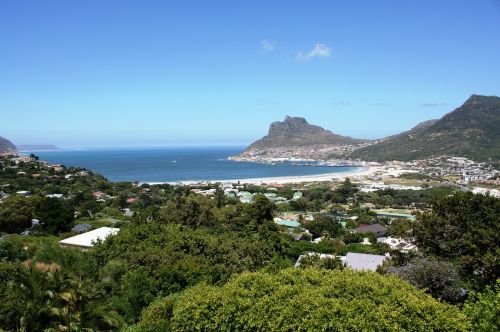 hout bay south africa landscape