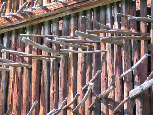 Wooden Sticks Texture