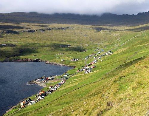 hov settlement  faroese settlement  faroe islands