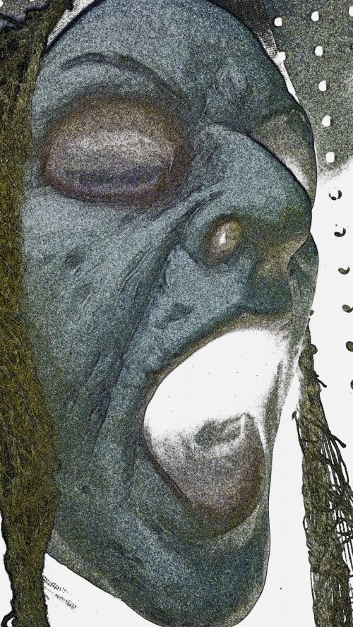 Howling Halloween Sketch