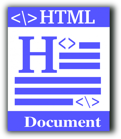 html file type source code