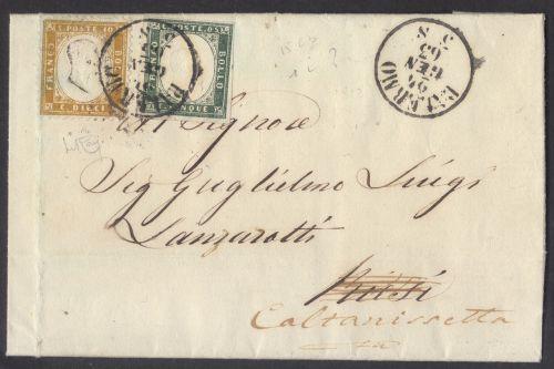 united sardinia stamps