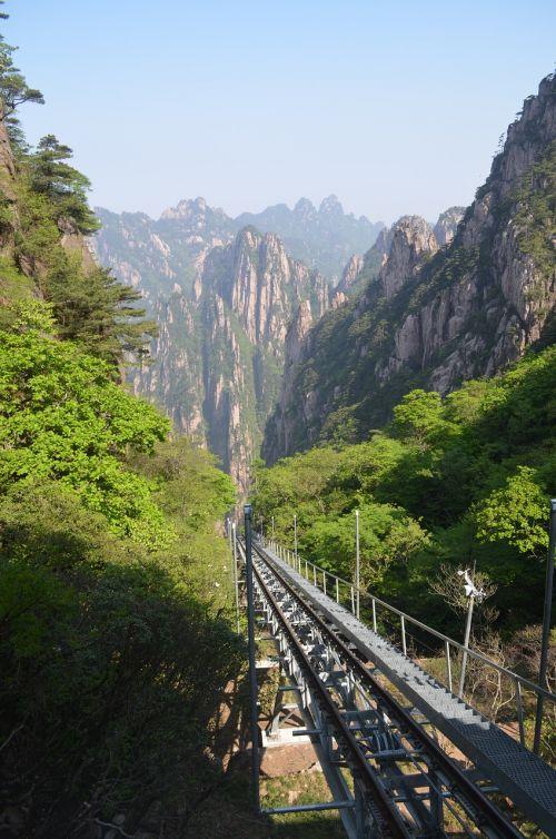 huangshan natural views