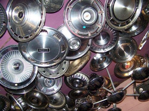 hub caps hubcaps ceiling