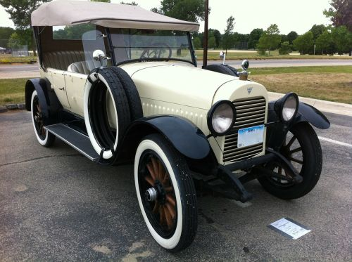 hudson phaeton 1921 car automobile