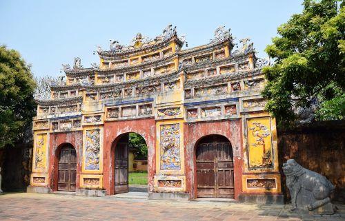 hue architecture hue city vietnam vietnam