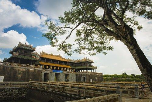 hue imperial citadel  hue  royal
