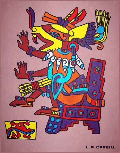 huehuecoyotl aztec aztec god