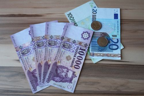 huf euro money