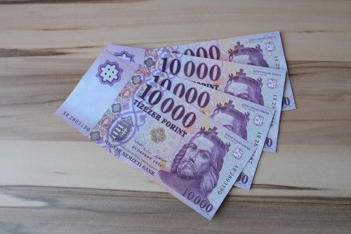 huf hungarian currency paper money