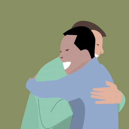 hugs friendship business